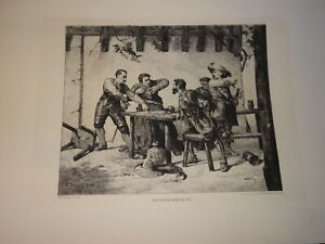 Victor-NEHLIG-1830-Paris-1909-New-York-City-EAU-FORTE-ORIGINALE-AMERICAN-1866