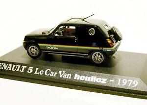 """RENAULT 5 1//43 R5  /"""" LE CAR  /"""" VAN HEULIEZ 1979 UH"""
