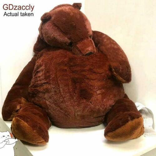⭐100cm Giant Simulation Bear Toy Brown Teddy Bear Stuffed Xmas Gift Animal Toys⭐