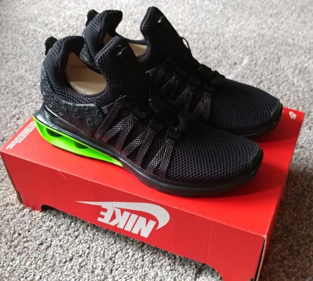 Nike SHOX GRAVITY LUXE MEMBER EXCLUSIVE LTD DS BLACK MENS 7 WOMEN 8.5 AR1470003