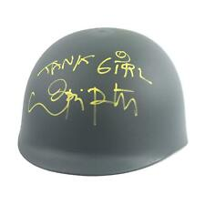 Lori Petty Autographed Tank Girl Army Helmet with Inscription (DACW COA)