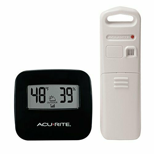 AcuRite Digital Indoor/Outdoor Thermometer with Clock