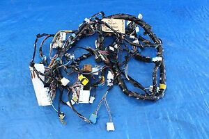 2011 mitsubishi lancer ralliart wagon oem dashboard wire harnessimage is loading 2011 mitsubishi lancer ralliart wagon oem dashboard wire