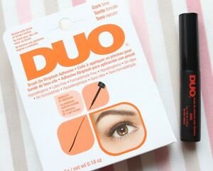 DUO-Brush-On-Wimpernkleber-schwarz-m-Pinsel-Latexfrei-falsche-Wimpern-lash-dark