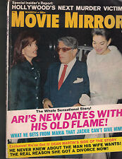Movie Mirror Magazine March 1970 Jackie Onassis Dean Martin