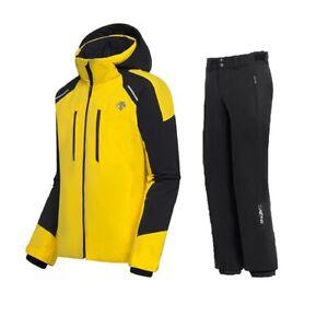 DESCENTE SLADE Ski Jacket + ROSCOE Ski Salopette Completo Uomo Sci DWMQGK17 11