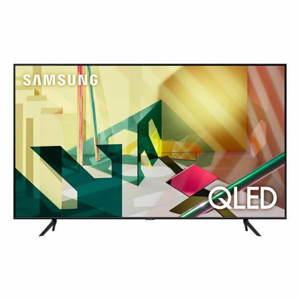 """SAMSUNG 85"""" Class 4K Ultra HD (2160P) HDR Smart QLED TV QN85Q70T 2020. Available Now for 1000.00"""