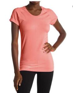 Z by Zella Meridian Mesh Back Seamless T-Shirt Yoga Top, Sz S, NWT