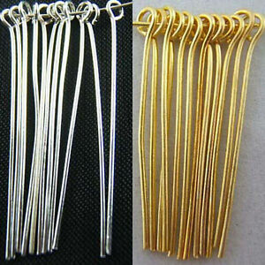 Wholesale-Silver-Plated-Gold-Plated-Eye-Pins-Needles-Jewelry-Findings-6-Sizes