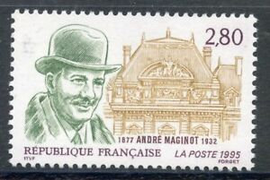 Capable Stamp / Timbre France Neuf N° 2966 ** Andre Maginot MatéRiaux De Choix