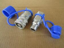 Hydraulic Coupler Set 12 For Volvo Mc60 Skid Steer