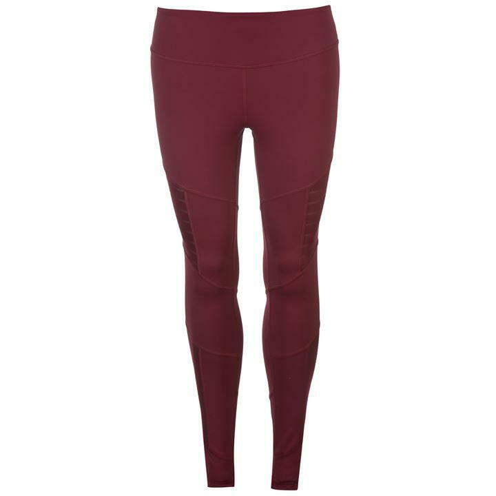 Reebok Lux High Rise Tights Ladies (XS) - Rustic Wine