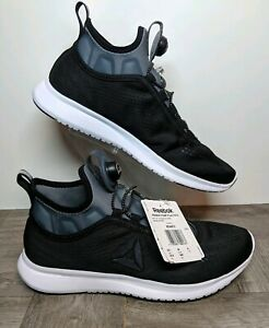 Details about New Reebok Pump Plus Tech Running Shoes BlackGrayWhite BD4872 W Size 8.5