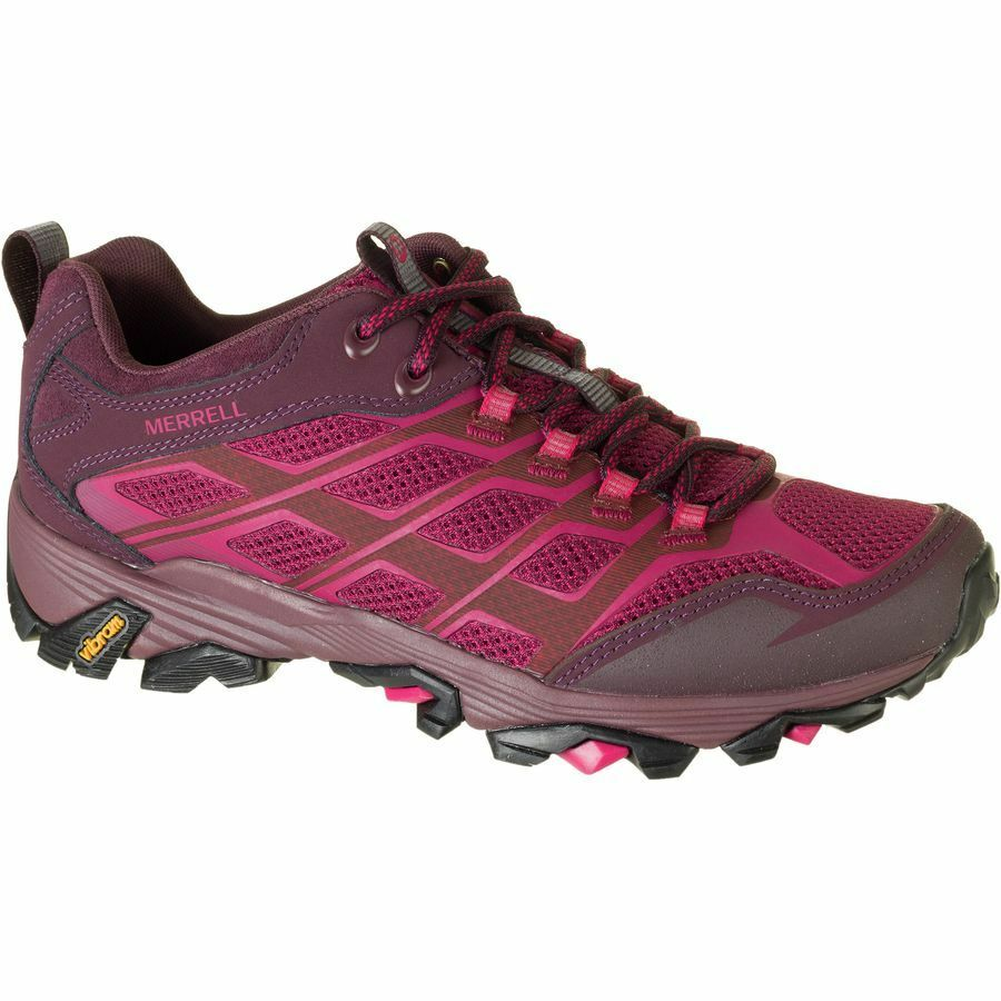 NIB WOMEN'S MERRELL J37178 J37178 J37178 MOAB FST  HIKING BEET RED SHOE SELECT SZ 5 1b930a