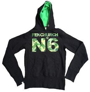 camuflaje estampado N capucha Camisa con capucha 6 de autᄄᆭntica mangas Fenchurch con rara y sin SzPw0q5z