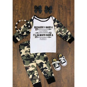 ba75386f1 Details about US Toddler Kids Baby Boy Outfits Clothes T-shirt Top+Pant  Trouser 2PCS Set 0-18M
