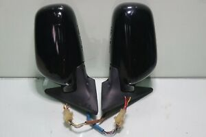 JDM-Subaru-Forester-STi-OEM-Power-Folding-Mirrors-SF5-1998-2002-Black