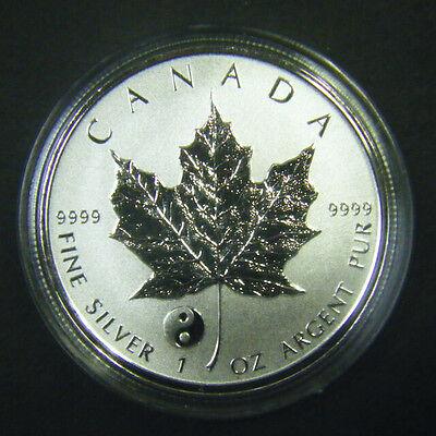 2017 Canada $5 1oz Chinese Panda Privy Mark Silver Maple Leaf Bullion coin