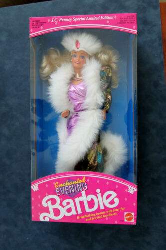 MATTEL ENCHANTED EVENING BARBIE DOLL JC PENNEY EDITION 1991 SERIES 2702