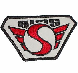 SIMS-Hierro-Parche-Cosido-Vintage-Skate-Snowboard-parche