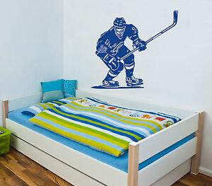 Wandtattoo-Eishockey-Sport-Hockey-Motiv-1