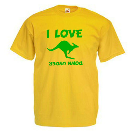 Love Kangaroo/'s Australia Children/'s Kids Childs Gift T Shirt