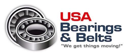 6000 2RS Premium Sealed Bearing 10x26x8 Deep Groove 6000RS C3 ABEC3 IB 1N166