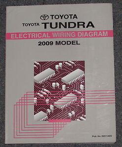 2009 toyota tundra electrical wiring diagram service manual ebay rh ebay com 2009 toyota tundra trailer wiring diagram 2007 Toyota Tundra Fuse Box Diagram