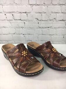 Clarks Women Sandals Shoes Size 7.5N