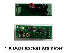 Mini AltiDuo-SMT model rocket altimeter board- Arduino/ Altimetre fusée