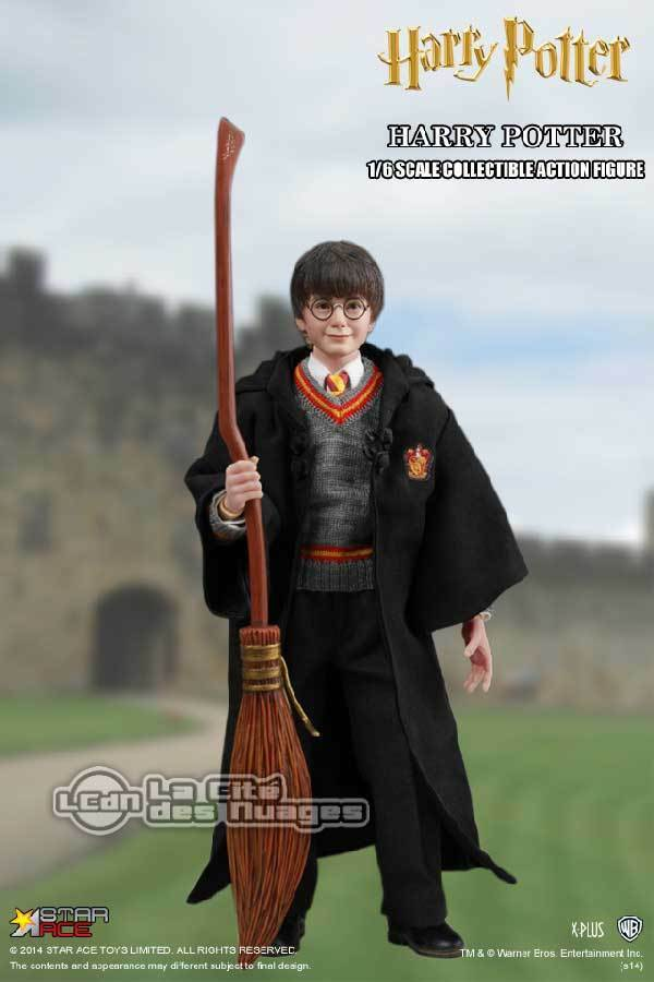 Harry Potter Daniel Radcliffe action figure 1/6 with costume 26cm STAR ACE