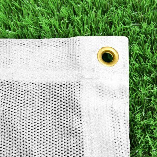 Sicherheitsnetz in Grün /& Weiß und fünf Großen erhäl Pfeilfangnetz Backstopp