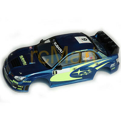 COLT 190mm Clear Body IMPREZA WRC 07 EP 1:10 RC Cars Touring On Road #M2322