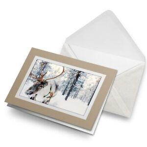 Greetings-Card-Biege-Lapland-Reindeer-Snowy-Chrismas-16651