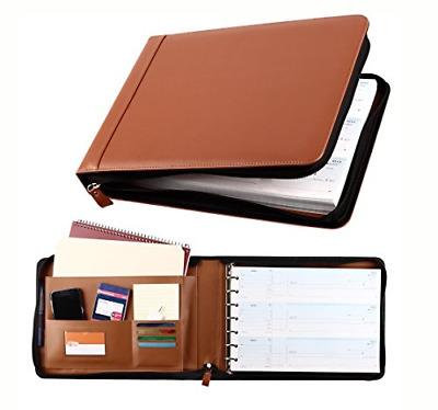 14 x 2 x 10 in. 3 on a Page, Holds 600 Checks 7 Ring Rose Gold Business Check Binder