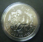 2013 Canada $5 Wood Bison Wild Life series 1oz .9999 Fine Silver Bullion Coin