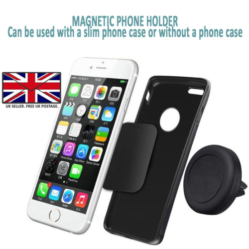 Huawei P9 Lite Mini-In Car Magnetic Magnet Phone Holder / Air Vent Mount Cradle