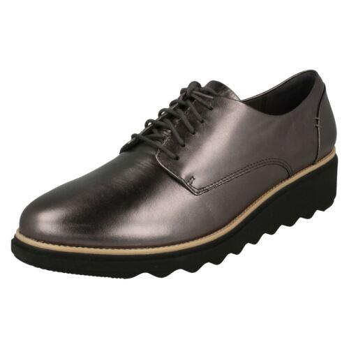 Mujer Con Clarks Zapatos Cordones Sharon Noel ' 1fUgqn