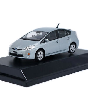 Toyota-Prius-1-43-Collectable-Model-Car-Metal-Diecast-Gift-Toy-Vehicle-Kids-Grey