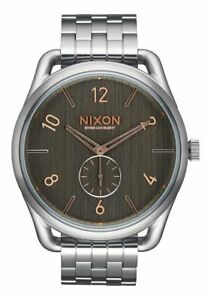 7b945a5c362 Nixon C45 SS Watch (Gray   Rose Gold) 882902864528