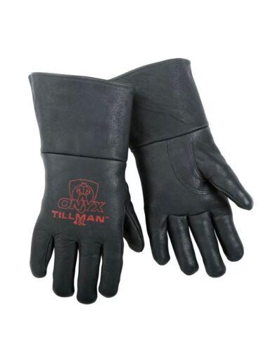 Tillman 45 Black Onyx Top Grain Pigskin MIG Welding Gloves