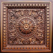 # 215 - Antique Copper 2' x 2' PVC Vinyl Decorative Ceiling Tile Grid