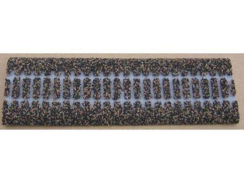 1 m lang Merkur Styroplast 200105 Gleisbettung für Flexgleis Märklin H0