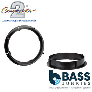 CT25VW07 165mm Front Door Speaker Adaptor Kit Ring For VW UP 2011 Onwards