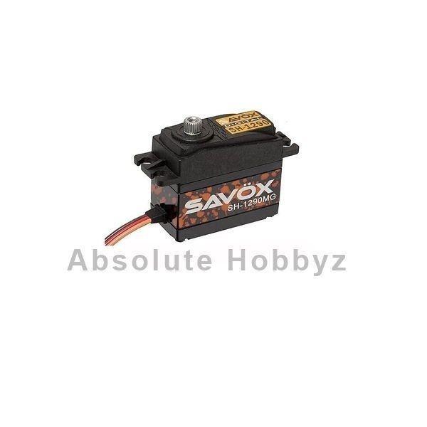 Savox 1290mg Digital se reunió Gear  Ultra Velocidad  Tail Servo-sav-sh-1290mg