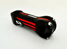ROAD BIKE BICYCLE HANDLEBAR STEM STRADALLI CYCLING FULL CARBON FIBER RED130MM