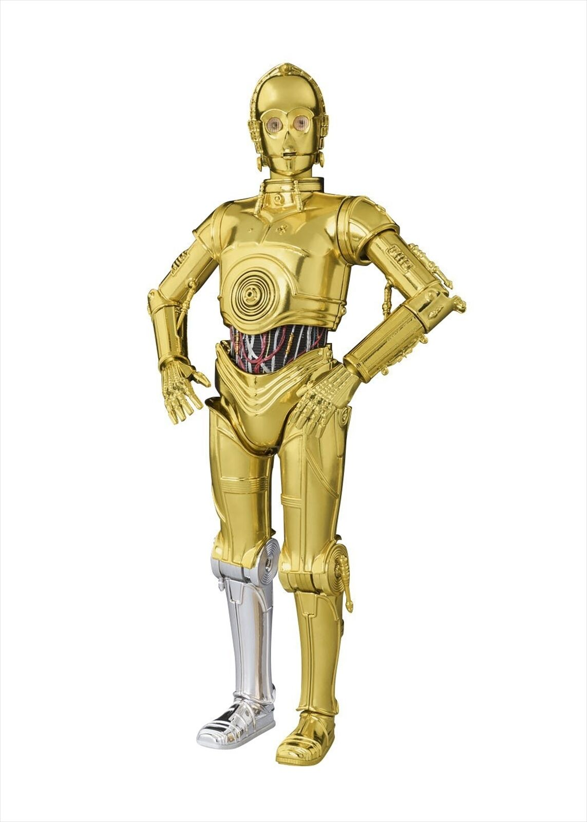 Bandai S. H. Figuarts Star Wars C-3 PO PO PO A NEW HOPE 155mm Action Figure d28dff