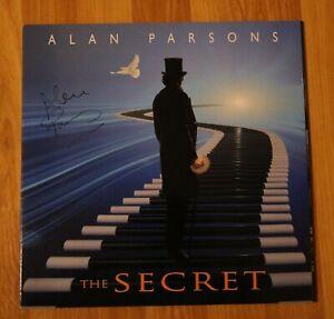 ORIGINAL-Autogramm-von-Alan-Parsons-Auf-VINYL-12-034-034-THE-SECRET-034-Selten