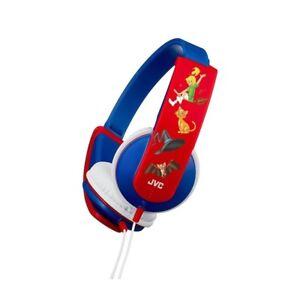 JVC HA-KD5-A BLUE/RED Kids / Children Headphones Original /Brand New