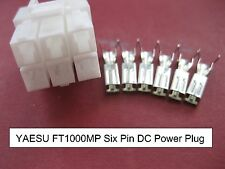 YAESU FT1000MP MARK 5 MKV SIX PIN 6-PIN 12V 12 VOLT DC POWER PLUG  FP-29